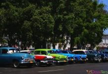 Cuba - Havane - Centro - Voitures