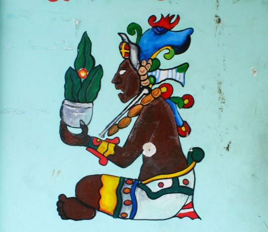 Mexique - Tulum - Fresque