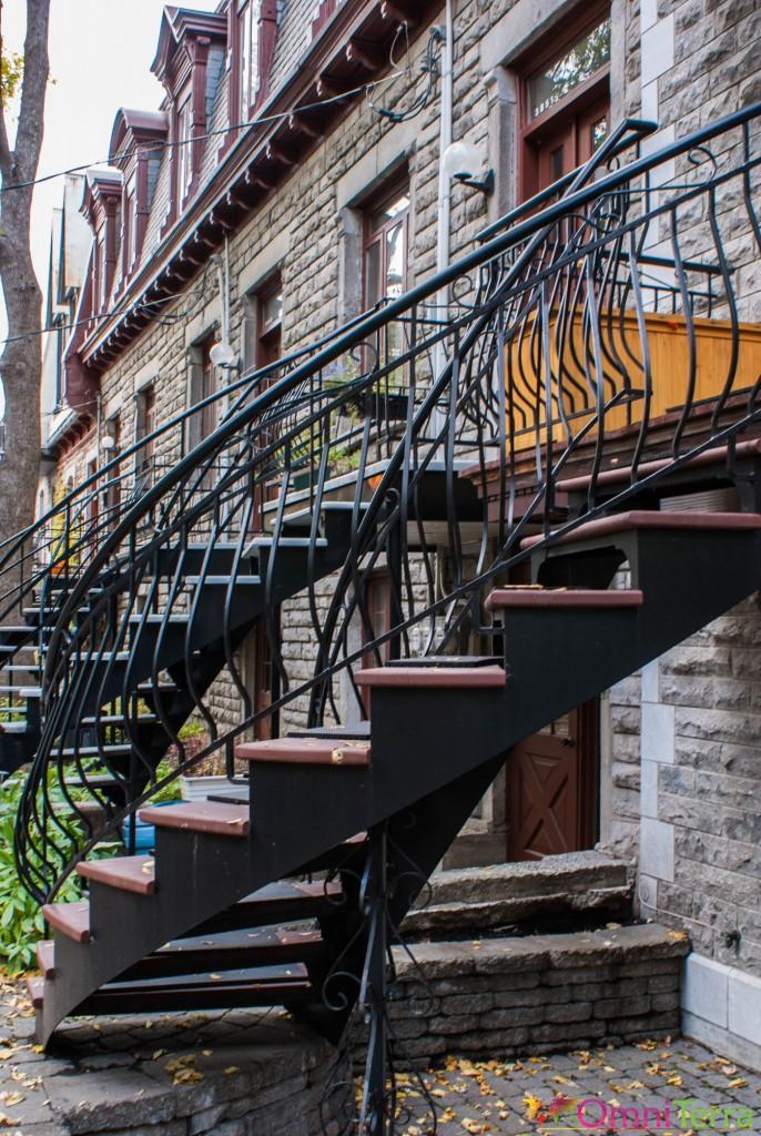 Montréal - Escalier