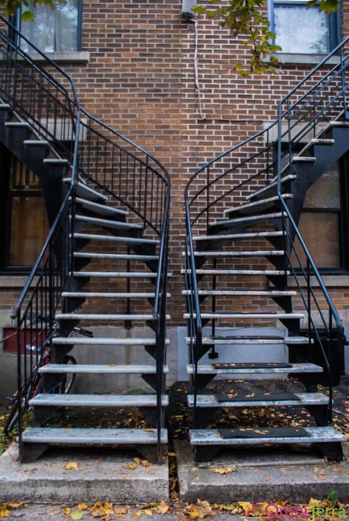Montréal - Escaliers
