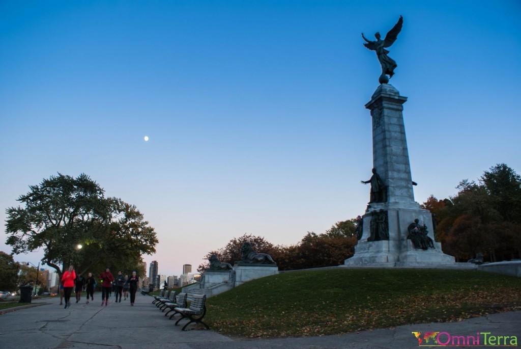 Montréal - Parc Jeanne Mance