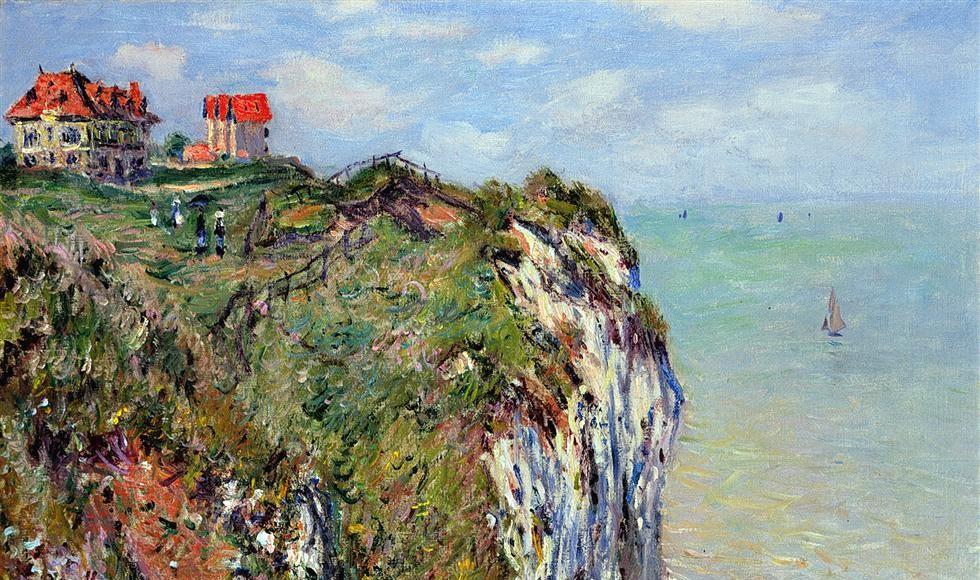 Falaise de Dieppe - Claude Monet