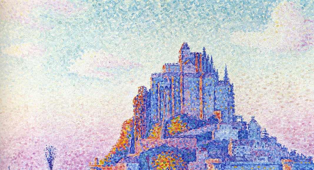 Mont Saint-Michel - Paul Signac