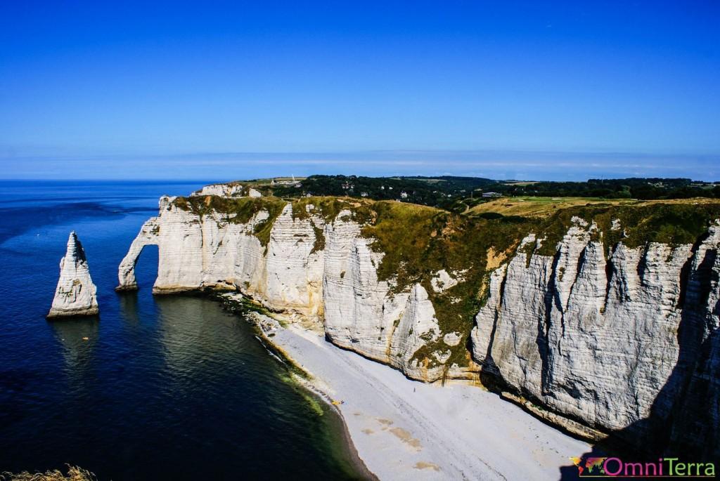 Normandie - Falaises d'Étretat