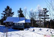 Québec - Chalet en hiver