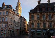 Lille - Vieille bourse et beffroi
