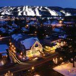 Laurentides - Mont-St-Sauveur-nuit