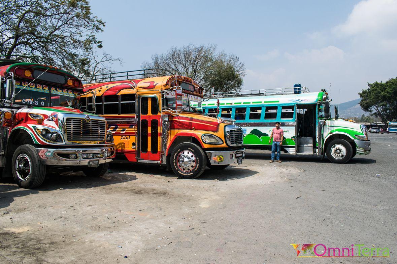 Guatemala - Antigua - Chicken Bus