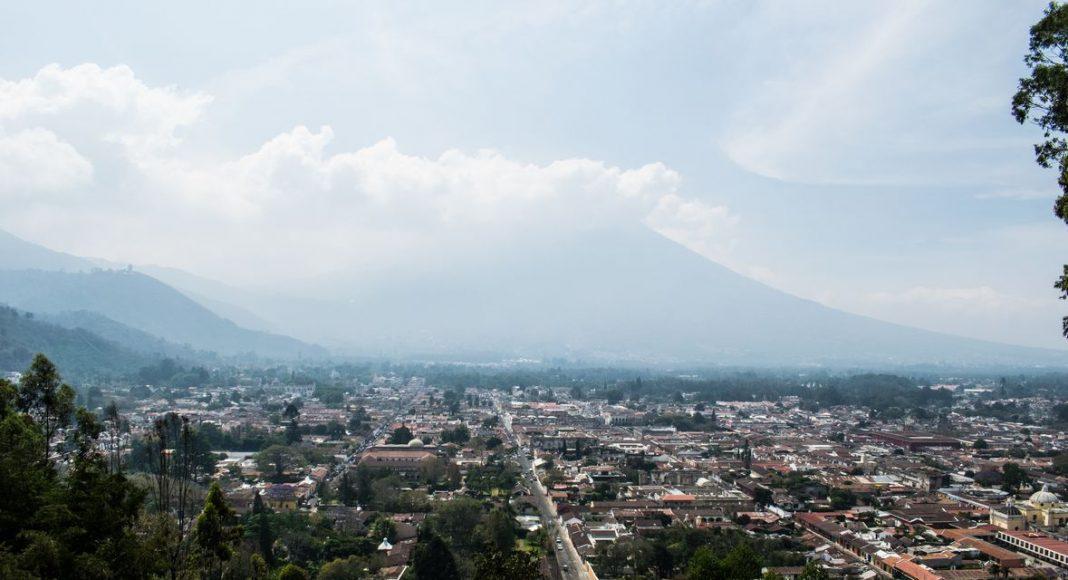Guatemala - Antigua - Panorama Cerro de la Cruz