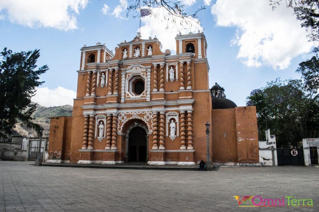 Guatemala - Jocotenango - Église