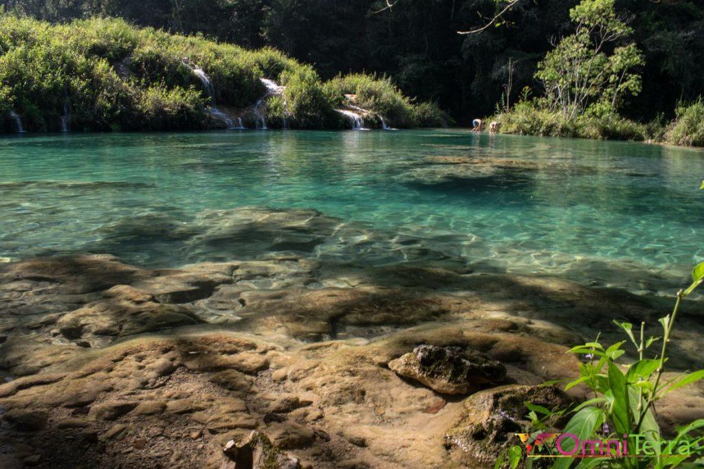 Guatemala - Semuc Champey - bassin