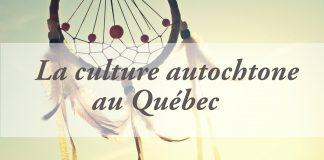 Culture autochtone quebec - cover