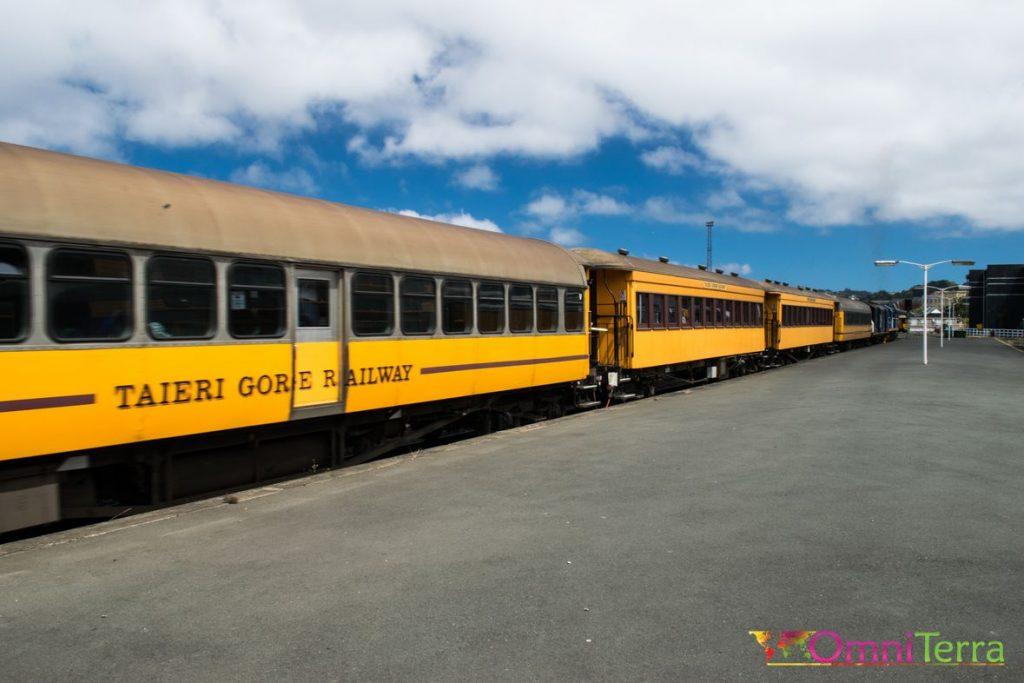 Nouvelle-Zélande - Dunedin - train
