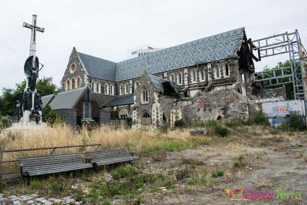 Nouvelle Zélande - Christchurch - Cathédrale